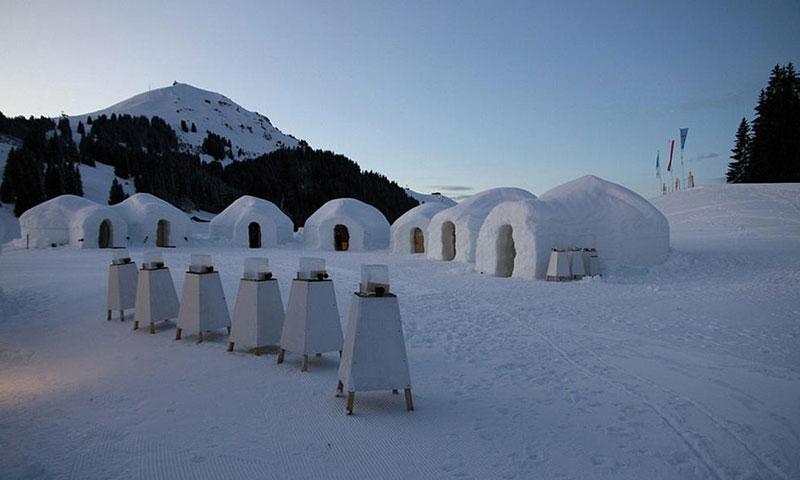 Snow-house